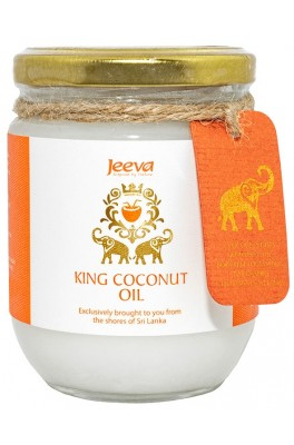 Ulei de Cocos 200ml Organic Extra Virgin King Jeeva